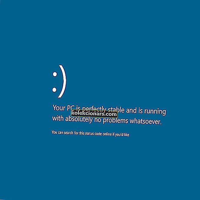 PFN LIST KORRUPT Blå skærmfejl i Windows 10
