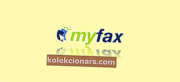 myfax faxový software