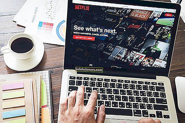 Kako popraviti kodo napake Netflix f7701-1003