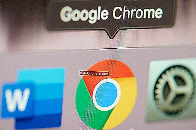 Chrome stále otevírá nové karty