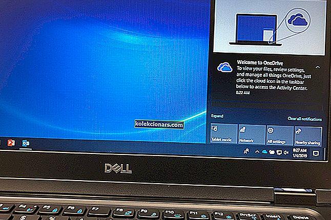 Hlavní panel Windows 10 nefunguje / nereaguje