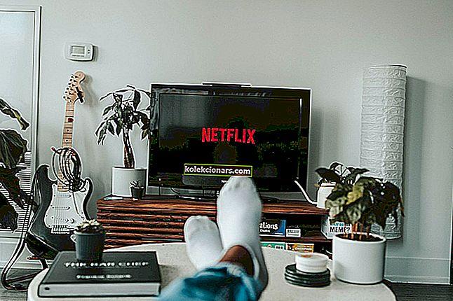 Chyba webu Netflix: váš požadavek nelze zpracovat