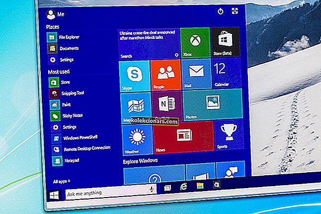Pilnīgs labojums: Sākuma izvēlne pazūd operētājsistēmās Windows 10, 7