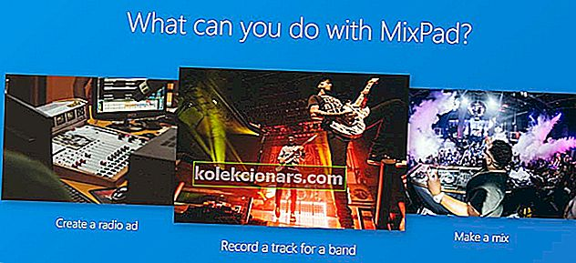 MixPad Multitrack Recording Software banner