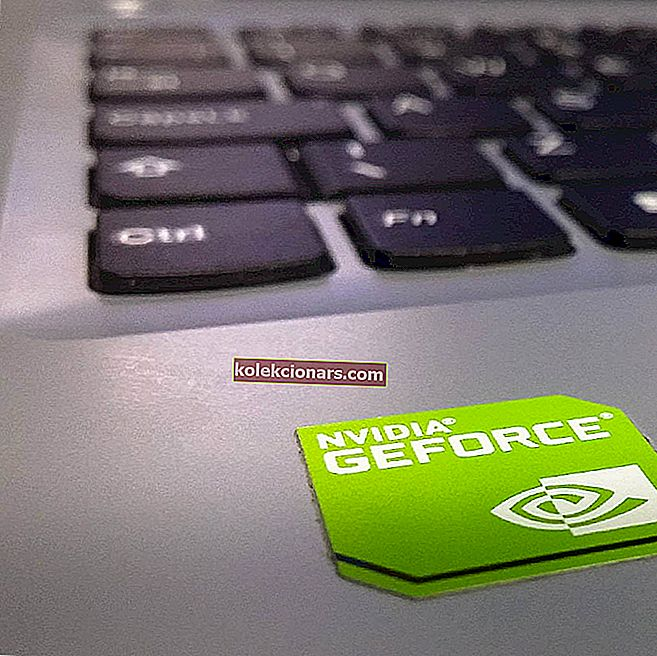 NVIDIA GeForce Experience fejlkode 0x0001